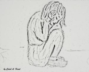crouching child 2