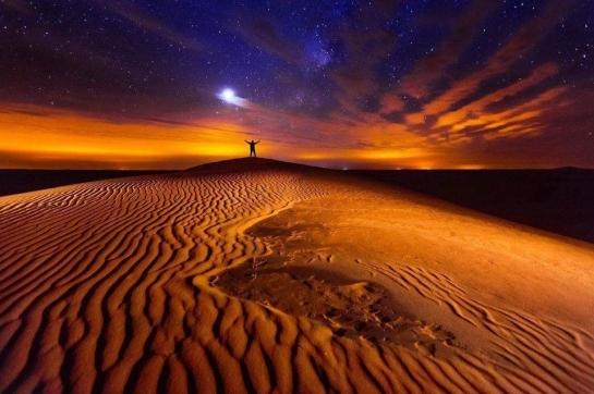 a desert home